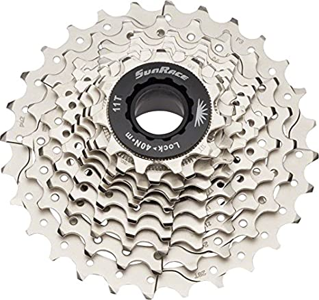 ca671881328 Amazon.com : SunRace RS1 10-Speed 11-28T Cassette : Sports & Outdoors