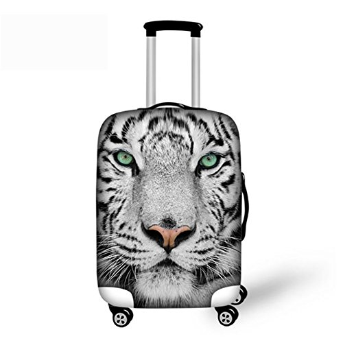 CHAQLIN Cool Animal Tiger Face 26-30 inch Suitcase Protector Covers Elastic