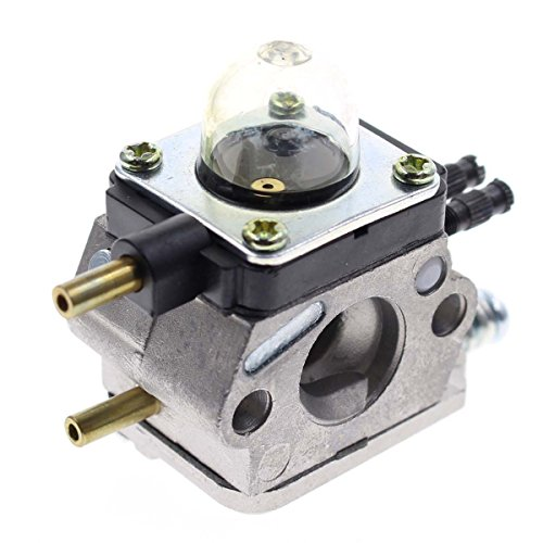 Carbhub C1U-K54A Carburetor for 2-Cycle Mantis 7222 7222E 7222M 7225 7230 7234 7240 7920 7924 Tiller / Cultivator Carb with Air Filter Repower Kit by Carbhub (Image #2)