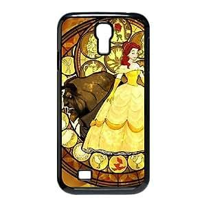 Disneys Beauty And The Beast Samsung Galaxy S4 90 Cell Phone Case Black DAVID-196159