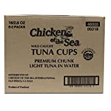 Chicken of the Sea Chunk Light Tuna in Water, 2.80-Ounce (Pack of 8)