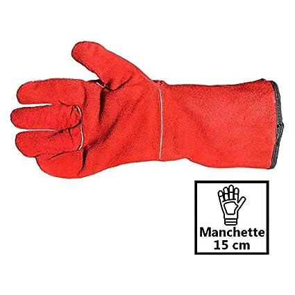 Guantes soldador anti calor Thermal Gold Hi muy alta protección – tamaño 10