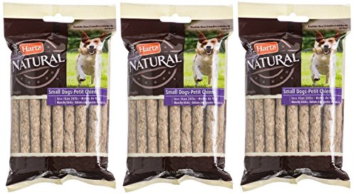 Rawhide Chews for Small Dogs, 20 Count (Pack of 3) ()