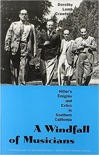 Amazon com: A Windfall of Musicians: Hitler's Émigrés and