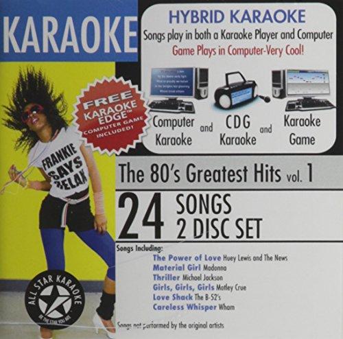 80's Karaoke Cd - 3
