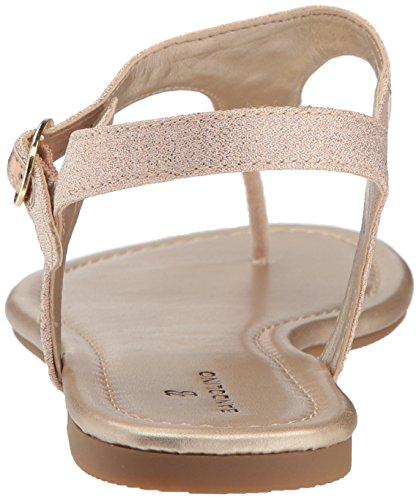 Sandal Bandolino Bandolino Womens Flat Rose Womens Sandal Flat Kyrie Rose Kyrie ZSzx1nS