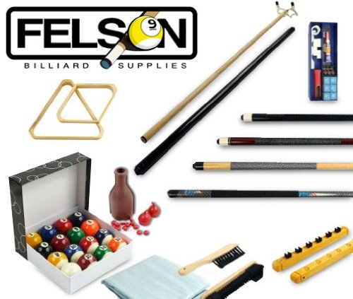 Deluxe Billiards Complete Accessories Kit - 32 Pieces! by Brybelly