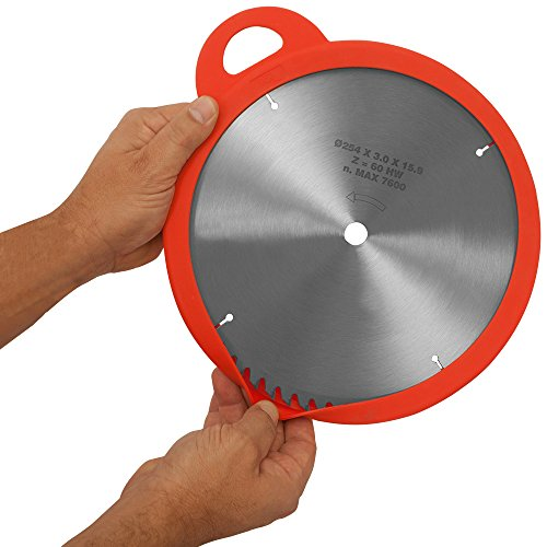 """Sili-Sleeve 10'' Saw Blade Protector 3 Pack. Protect Your 10"""" Table Saw Blades with Silicone Sleeves. by Sili (Image #2)"""