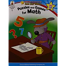 Puzzles and Games for Math, Grade 1: Gold Star Edition