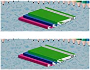 SunflowerFitness Gym Towels for Men & Women Beach Towel 2-Pack Print Fast Drying Microfiber Sport Workout
