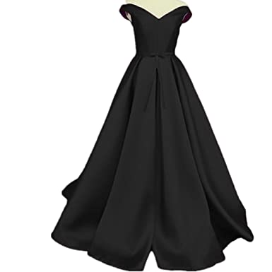 Udresses Womens Off Shoulder Long Evening Prom Dress for Party UX008