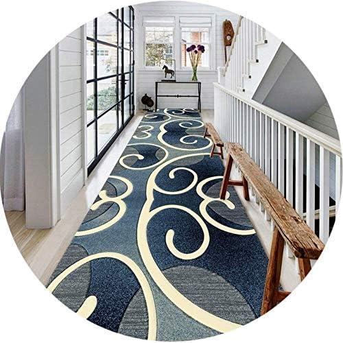 YANAN-廊下ランナー 近代廊下カーペットランナーソフト洗える滑り止めランナーラグのために階段、廊下、キッチンの範囲を絞ります ロングカーペット (Size : 0.9×1m)