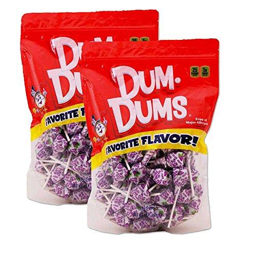 Dum Dums Grape 2-1 lb bags