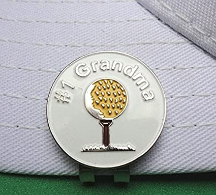 Image Unavailable. Image not available for. Color   1 Grandma Golf Ball  Marker   Magnetic Hat Clip c61d4762e003