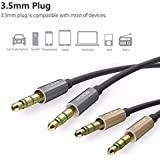 Rock Audio Cabel 3.5Mm Aux In For iOS And Android, Light Gold,Dark grey