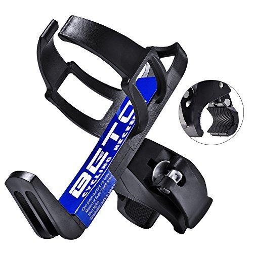 Uarter Adjustable Bike Bicycle MTB Water Bottle Holder Rack Cage Black