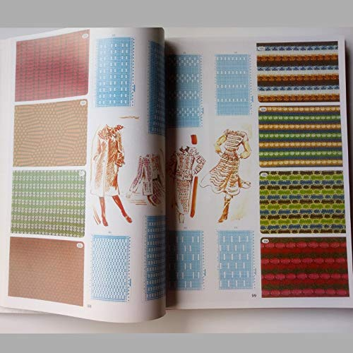 ShineBear Brother Knitting Machine DIY Sweater Volume Punchcard Pattern Book 319pages by ShineBear (Image #4)