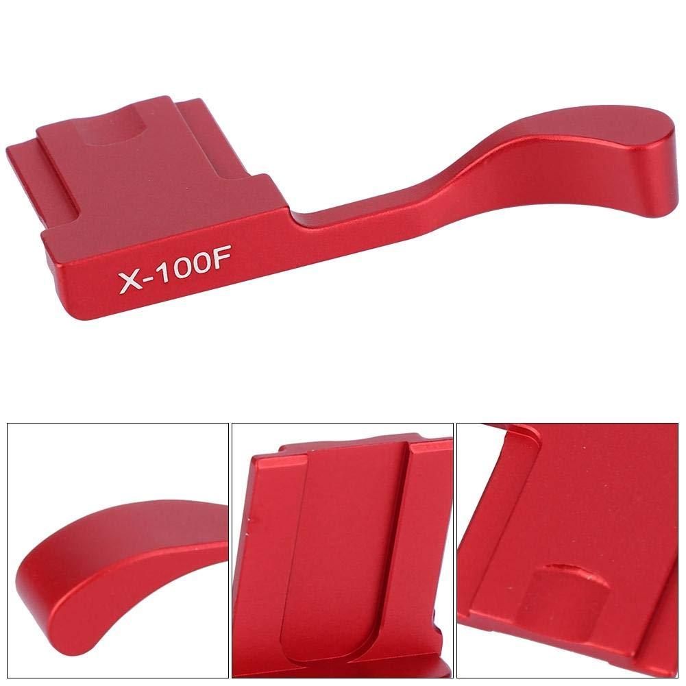 X-pro2 Mirrorless Camera X-A5 X100T Tosuny Alluminio Hot Shoe Thumb Up Grip for Fuji X-100F Nero X-A3