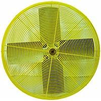 TPI Corporation HDH30 Heavy Duty Industrial Circulator Head, Yellow, Single Phase, 30 Diameter, 120 Volt