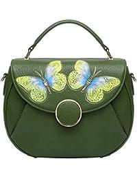 Designer Shoulder Purses Women's Genuine Leather Bag CrossBody Bag Summer 8003
