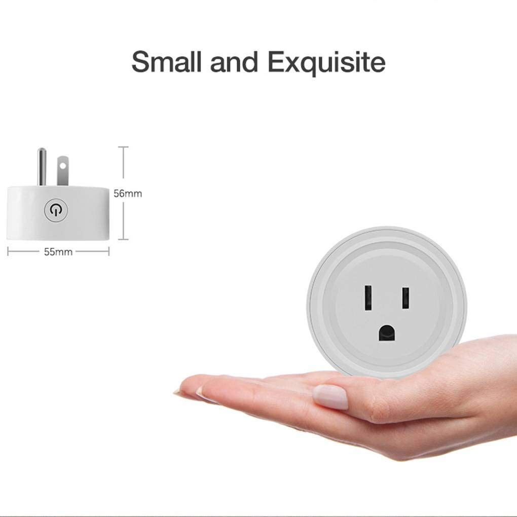 CANWING Ewelink WiFi Mini Wireless US Smart Socket Electric Device Control Plug Phone App Smart Timer Stevlogs