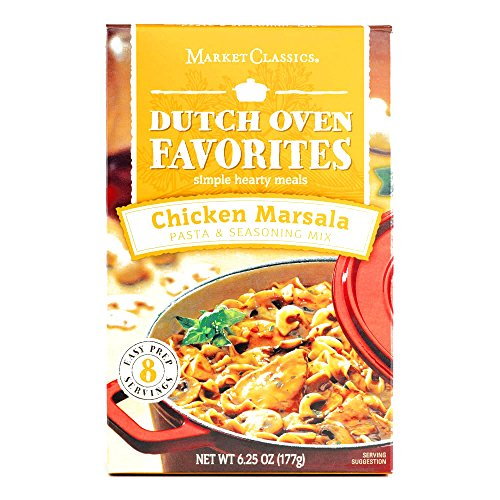 Price comparison product image Dutch Oven Favorites Chicken Marsala 6.25 oz each (5 Items Per Order)
