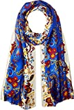 Echo Design Women's Rajasthan Paisley Oblong Scarf Multi One Size