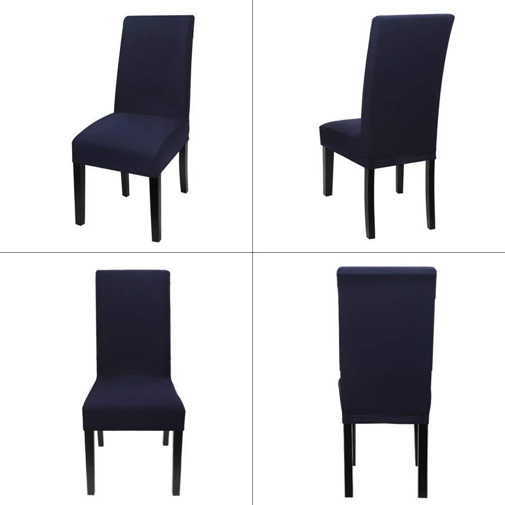 Walkec Fundas para sillas Pack de 4 Fundas sillas Comedor Fundas el ...