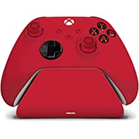 Controller Gear Pulse Red Universal Xbox Pro Charging Stand with 1100 Mah Rechargeable Battery, Charging Dock, Charging…