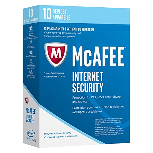 McAfee Internet Security 2017 Device