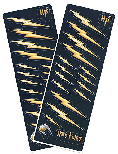 Harry Potter Lightening Bolt Stickers with Snitch (2 sheets)