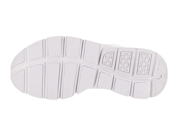 Amazon.com   Nike Sock Dart Womens Running-Shoes 848475-100_8 - White/Pure Platinum   Fashion Sneakers