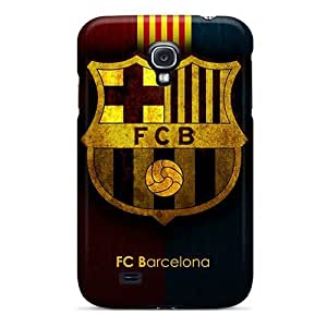 Shock Absorbent Cell-phone Hard Covers For Samsung Galaxy S4 (fip221ajdZ) Provide Private Custom Colorful Fc Barcelona Series WANGJING JINDA