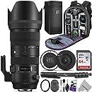 Sigma 70-200mm f/2.8 DG OS HSM Sports Lens for Nikon F w/Sigma USB Dock & Advanced Photo and Travel Bundle