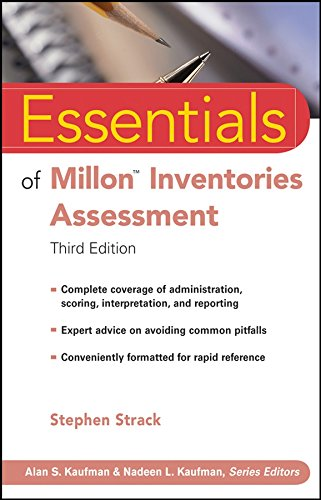 Essentials of Millon Inventories Assessment, Third Edition