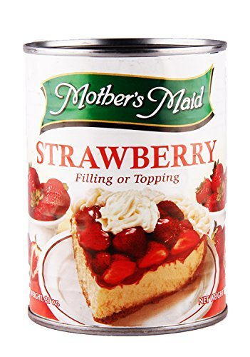 Mothers Maid 1 Stawberry Pie Filling, Tin, 595G by Mothers Maid