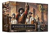 Deus Vult Medieval Archers 28mm Plastic Figures