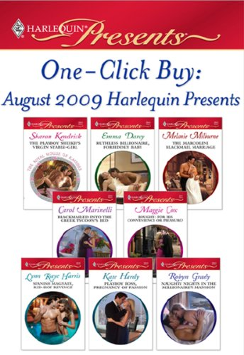 one-click-buy-august-2009-harlequin-presents-the-playboy-sheikhs-virgin-stable-girlruthless-billiona
