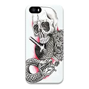 Case For Htc One M9 Cover Case, Indian Style Skull 3D Design Phone Case For Htc One M9 Cover