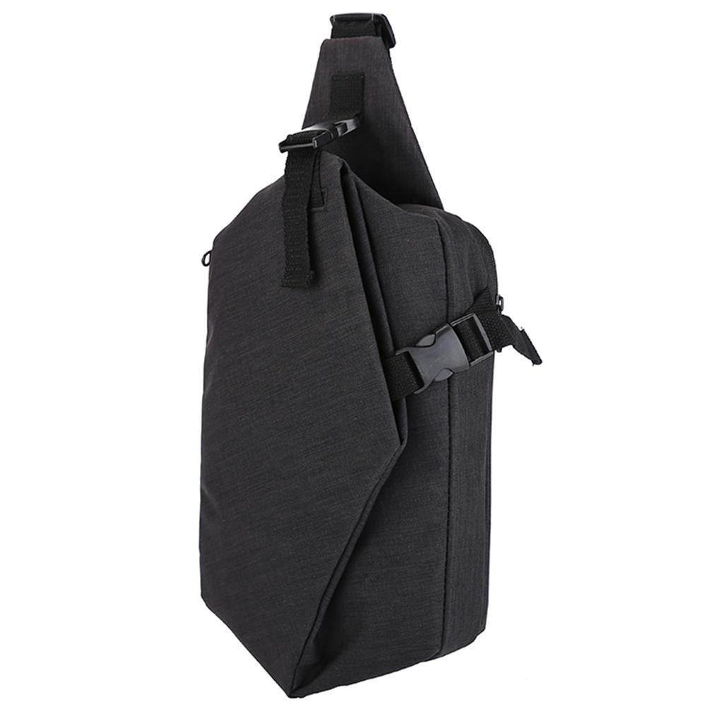 Tuankay Unisex Men Messenger Bag Chest Pack Simple Women Shoulder Cross Body Bags