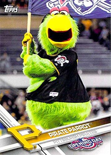 2017 Topps Opening Day Baseball Mascots Insert #M-12 Pirate Parrot - Shop Mascot