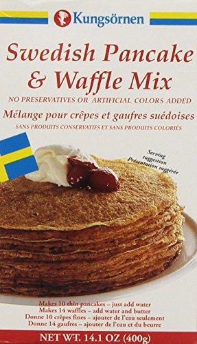 Kungsornen Swedish Pancake and Waffle Mix, 14.1 Ounce