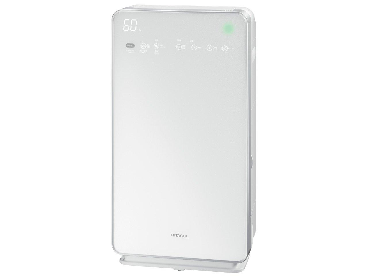 日立 クリエア 加湿空気清浄機 (空清~42畳 自動おそうじ機能付き) パールホワイト EP-LVG90 W B016BHP992