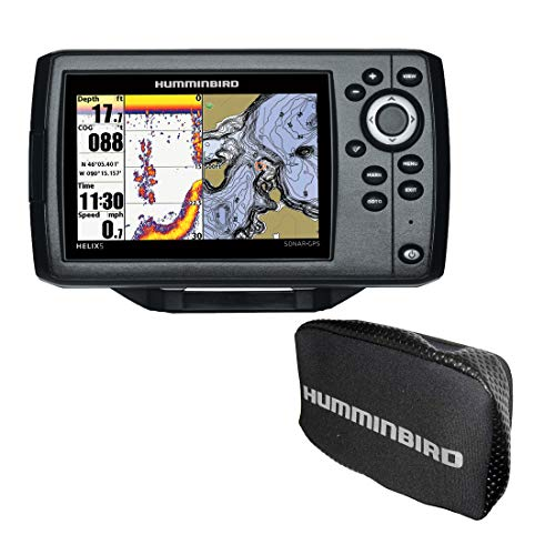 Humminbird 410230-1 Helix 5 Fish Finder Chirp, SI, GPS, G2