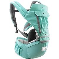 Festnight Baby Carrier with Hip Seat Breathable & Detachable Design Adjustable Strap Side Pockets Multifunctional…