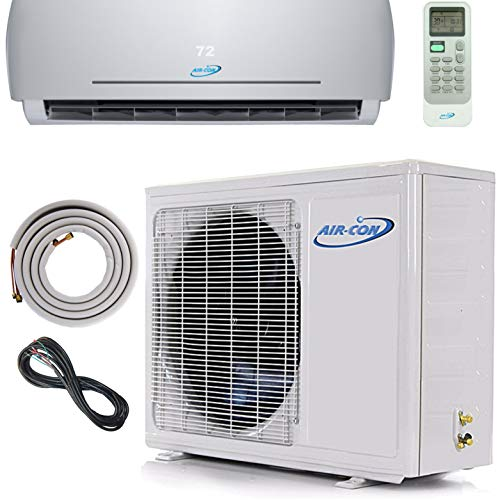 - 9000 BTU Mini Split Ductless Air Conditioner – 22 SEER - Includes FREE 12' Lineset and Wiring - Arrives 100% Ready to Install - Pre-Charged Inverter Compressor – 3/4 Ton Heat Pump - USA Parts and Tech