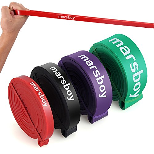 Marsboy- Latex Traction Bande Elastique pour Exercices Yoga Musculation. 9dcd38d08e2