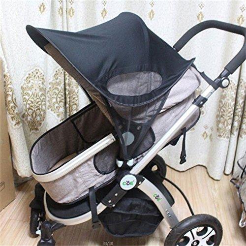 Compact Stroller Sunshade - Summer Stroller Sunshade Infant Stroller Baby Cover Sun Shade SPF 50+ Rayshade