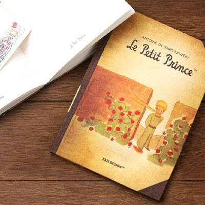 The Little Prince Fabric Notebook - 02