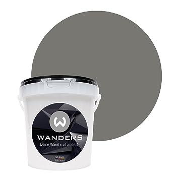 Wanders24 Tafelfarbe (1Liter, Beton Grau) Matte Wandfarbe In 15 Farbtönen  Erhältlich,